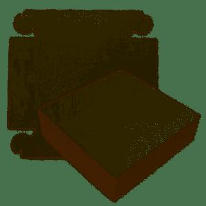 Zwanenhalsdozen Wit 34 x 34 x 8 cm