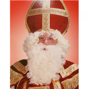 060 Pruik en baard Sinterklaas