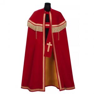 Sinterklaas mantel en stola deluxe Bram