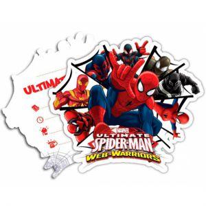 Spiderman Uitnodigingen