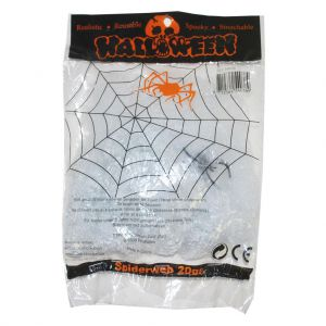 Spinnenweb 20 gr. met spin