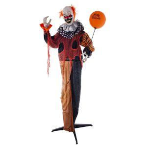Halloween Heks met licht, geluid en beweging 250 cm