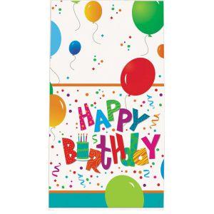 Tafelkleed Happy Birthday Jamboree