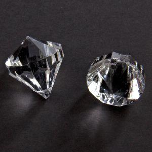 Tafel Diamantjes Transparant (30 mm)