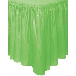 Tafelgordijn Lime Groen
