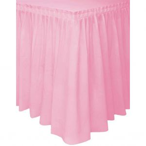 Tafelgordijn Baby Roze
