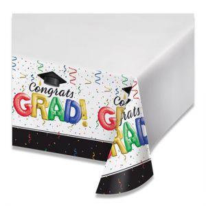 Tafelkleed Geslaagd Congrats Grad