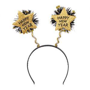 Tiara Goud Sparkling Happy New Year