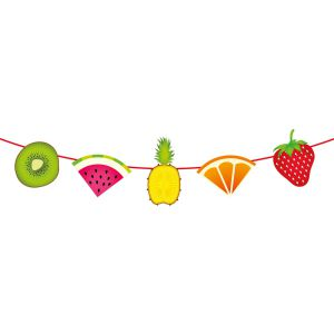 Vlaggenlijn Tropisch Fruit