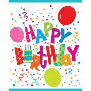 Uitdeelzakjes Happy Birthday Jamboree