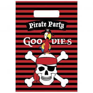 Uitdeelzakjes Piraat