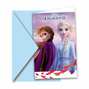 Uitnodigingen Frozen 2