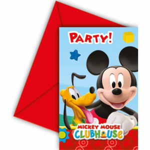 Uitnodigingen Mickey Mouse Clubhouse