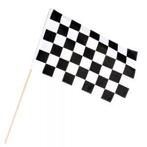 Polyester zwaaivlag Racing