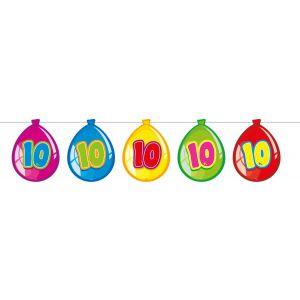 Vlaggenlijn Balloonshape 10 jaar
