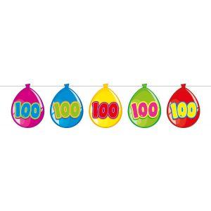 Vlaggenlijn Balloonshape 100 jaar