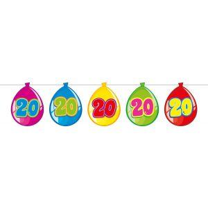 Vlaggenlijn Balloonshape 20 jaar