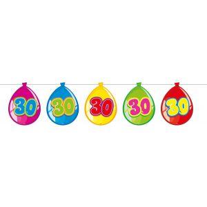 Vlaggenlijn Balloonshape 30 jaar