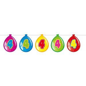 Vlaggenlijn Balloonshape 4 jaar