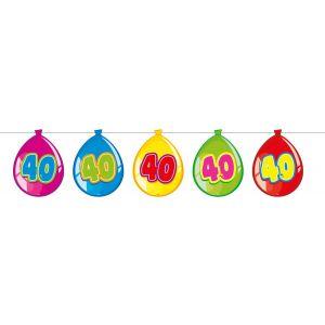 Vlaggenlijn Balloonshape 40 jaar