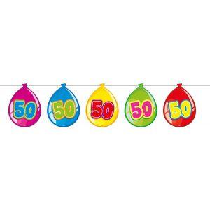 Vlaggenlijn Balloonshape 50 jaar