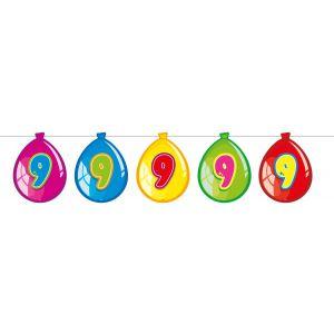 Vlaggenlijn Balloonshape 9 jaar