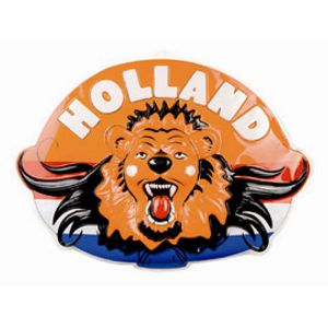 Wanddecoratie Holland leeuw