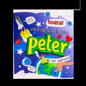 Wenskaart Peter