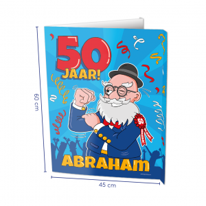 Raambord 50 jaar Abraham
