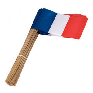 Zwaaivlag Frankrijk